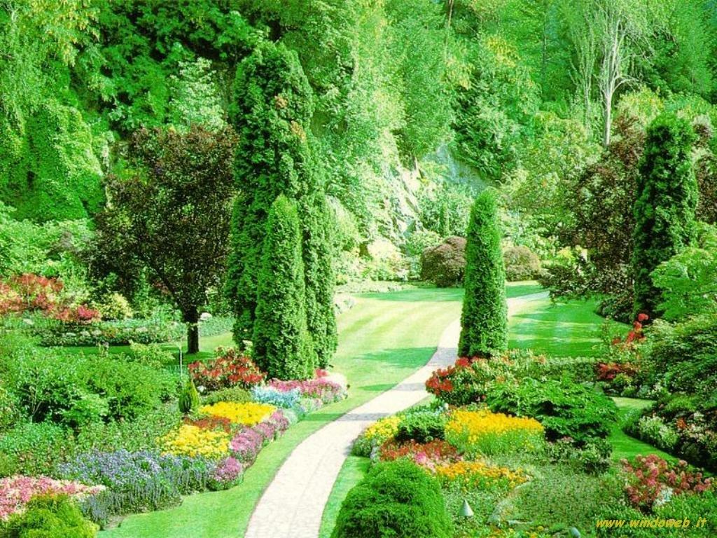 Populaire Meravigliosa favola del giardino di fiori FI07